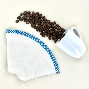 zd, filtre à café, fait avec amour, fait main, set de couverts, bambou, éco responsable, fait main, écologique, pic-nic, zéro déchet, no waste, made in france, couvert en bambou, paille inox, fait en Martinique
