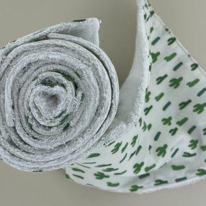 Les sopalin réutilisable Maman Cactus sont trés absorbant et remplace avantageusement le jetable pour un mode de vie zéro déchet.