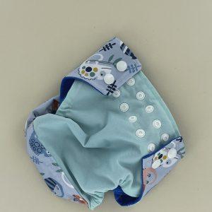 une couche lavable maman cactus c'est modernité et simplicité d'utilisation au service des parents et pour le confort des enfants